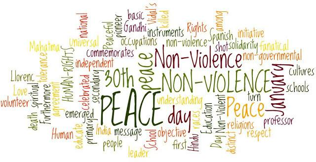 30th January Non violence Peace day